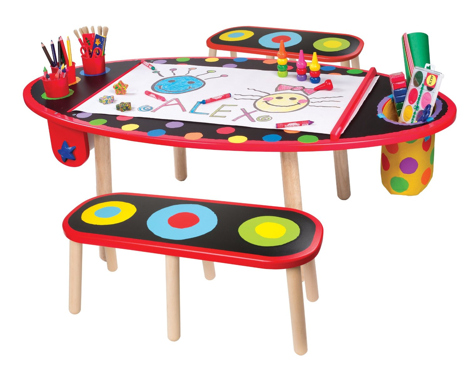 Find the Cutest Art Table for Kids - HomesFeed
