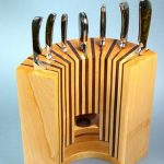 costume-made-knife-block-and-wooden-knife-block-with-many-places-for-knives