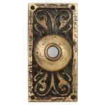 craftmade decorative wireless doorbell with lighted push button for home ideas