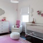 cute-and-sweet-baby-girl-bedroom-with-white-theme-combined-with-pink-rug-on-dark-wooden-floor-and-pink-shawl