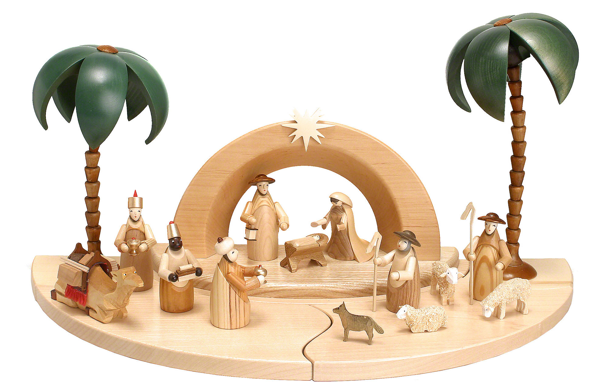 Weihnachtskrippe Modern.Modern Nativity Set Religious Christmas Decoration Homesfeed