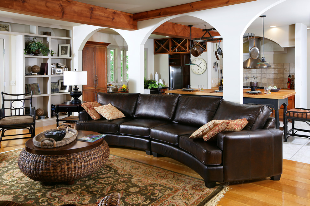 Ethan Allen Leather Furniture For Charming And Comfortable