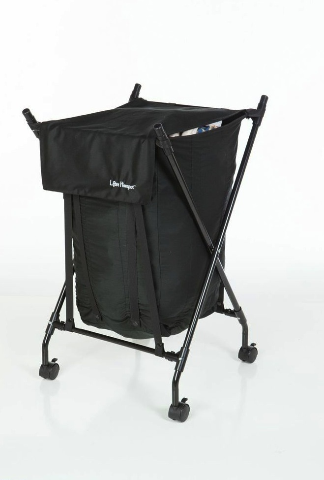 Hamper With Wheels For Easy Moving Linen Homesfeed