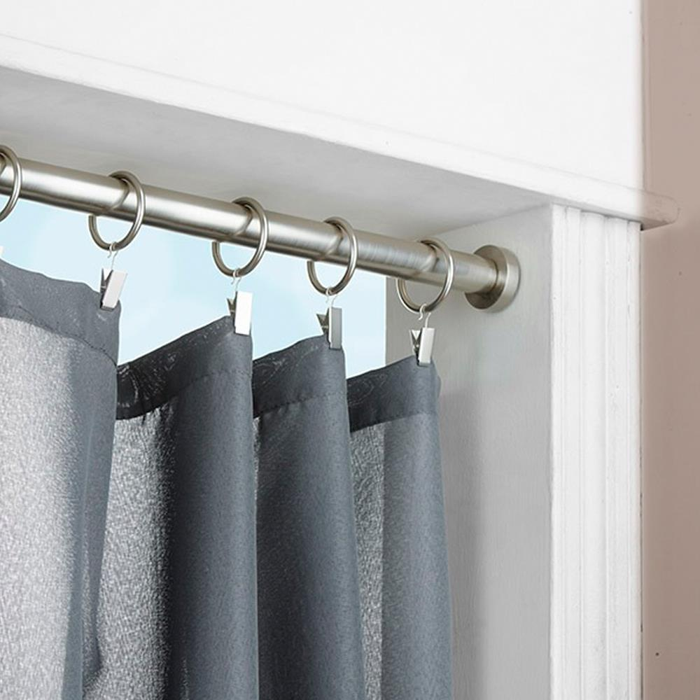 Window Treatment With Tension Rod Curtain HomesFeed