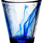 handsome-set-of-4-cobalt-blue-drinking-glasses-for-home- collection-Designed-by -renowned-glass-makers- Bormioli-features-infused -blue-swirls-in-the-clear-glass (1)