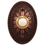 heathco venetian decorative wireless doorbell made of bronze with unique and classic design