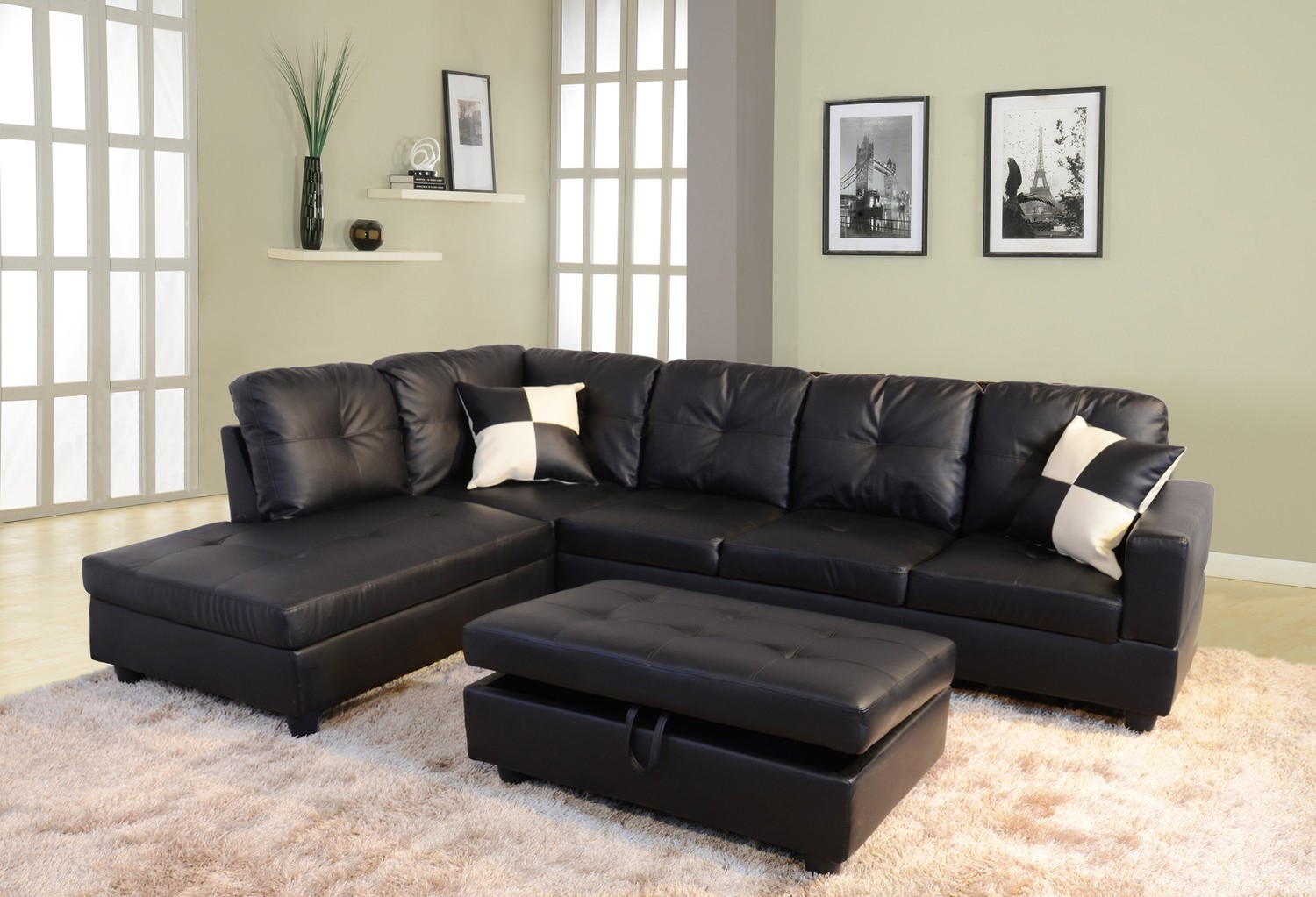 Living Room with Sectional Sofa - Perfect Ideas - HomesFeed