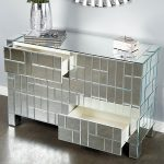 luxurious-and-glossy-white-dresser-with-hollywood-style-vanity-table