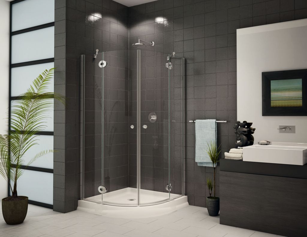 Corner Shower Units For Small Bathroom: Solving Space