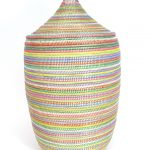 multicolors senegalese storage baskets for home ideas