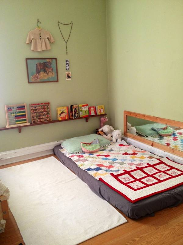 Nice toddler floor beds homesfeed for One bedroom apartment with baby ideas