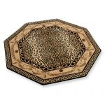 octagon cheetah print rugs in modern style for beautiful home interior