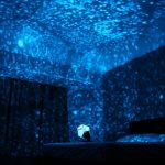 romantic-light-projection-with-star-design-in-the-dark-room