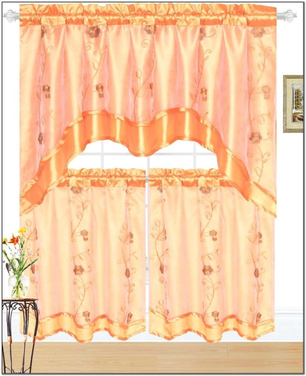 Jcpenney Kitchen Curtain Stylish Drape For Cooking Space Homesfeed