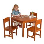 the-farmhouse-5-piece-table-and-chairs-set-by-kidkraft-with-square-table-and-4chairs-using-birch-wood-and-strong-and-durable-set
