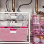 underneath-sink-bathroom-organizer-for-organize-cosmetics-and-toiletries-using-elfa-mesh-drawer-unit-as-the-smaller-plastic-container-or-cardboard-jewelry-boxes