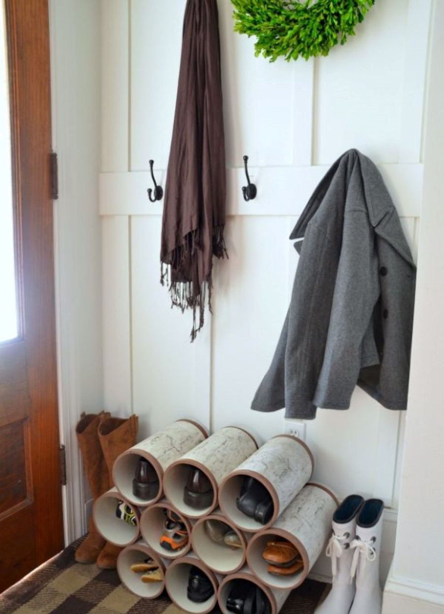 Shoes And Boot Storage Creative Diy Ideas Homesfeed