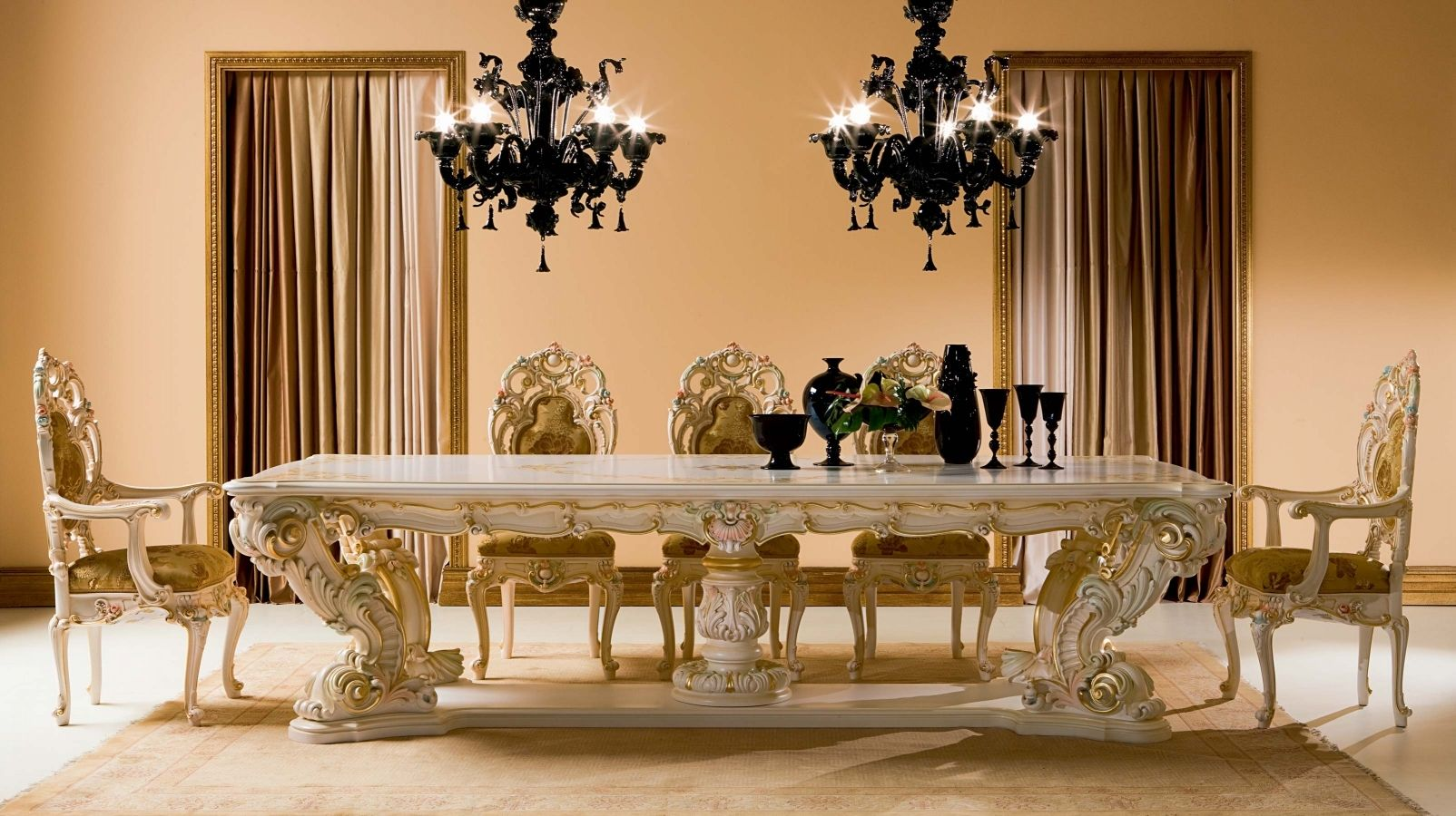 How To Arrange A Bedroom Granite Dining Table Set Flooding The Dining Room With