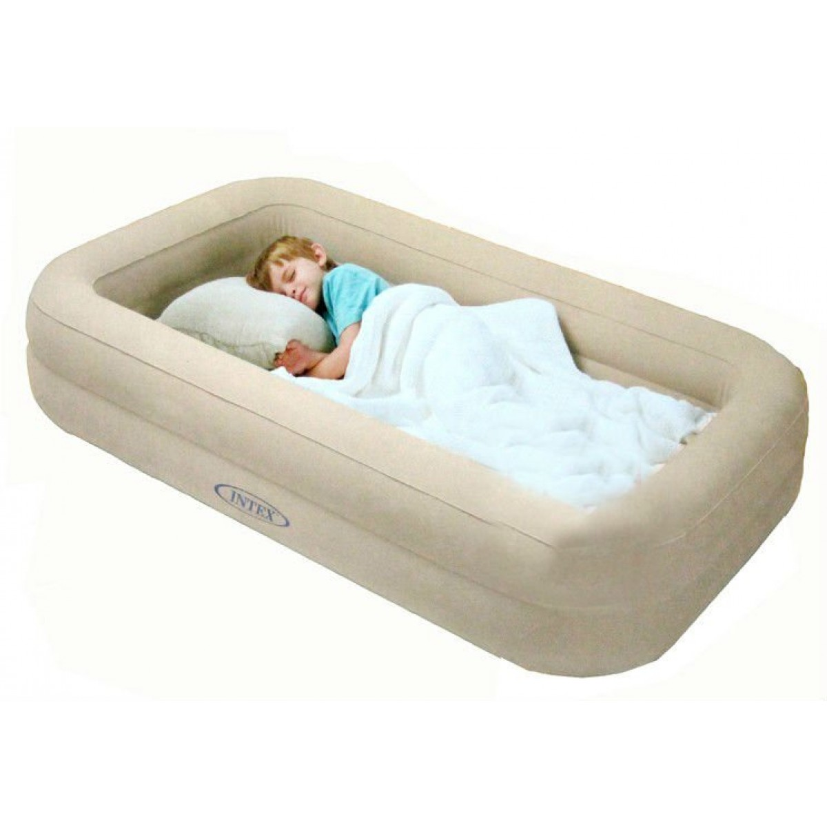 A Travel Bed For Kid With Deeper Sleeping Area