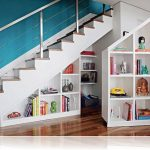 Awesome Cupboard Under the Stairs For Books And Accessories