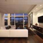 Awesome Living Room With Modern Apartment Interior