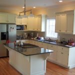 Beautiful White Kitchen Cabinets Ideas With Marble Design