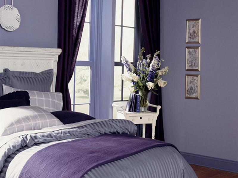 purple paint in bedroom best color wall paint homesfeed 16883