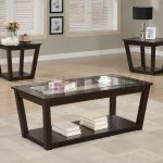 Best Cocktail Table Set With Rectangular Glass On Top