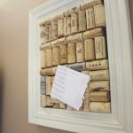 Best Cool DIY Cork Boards With White Frame