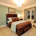 Best Relaxing Bedroom Best Color Wall Paint WIth Wooden Furniture
