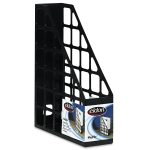 Black Net Design Of Plastic Magazine Holders