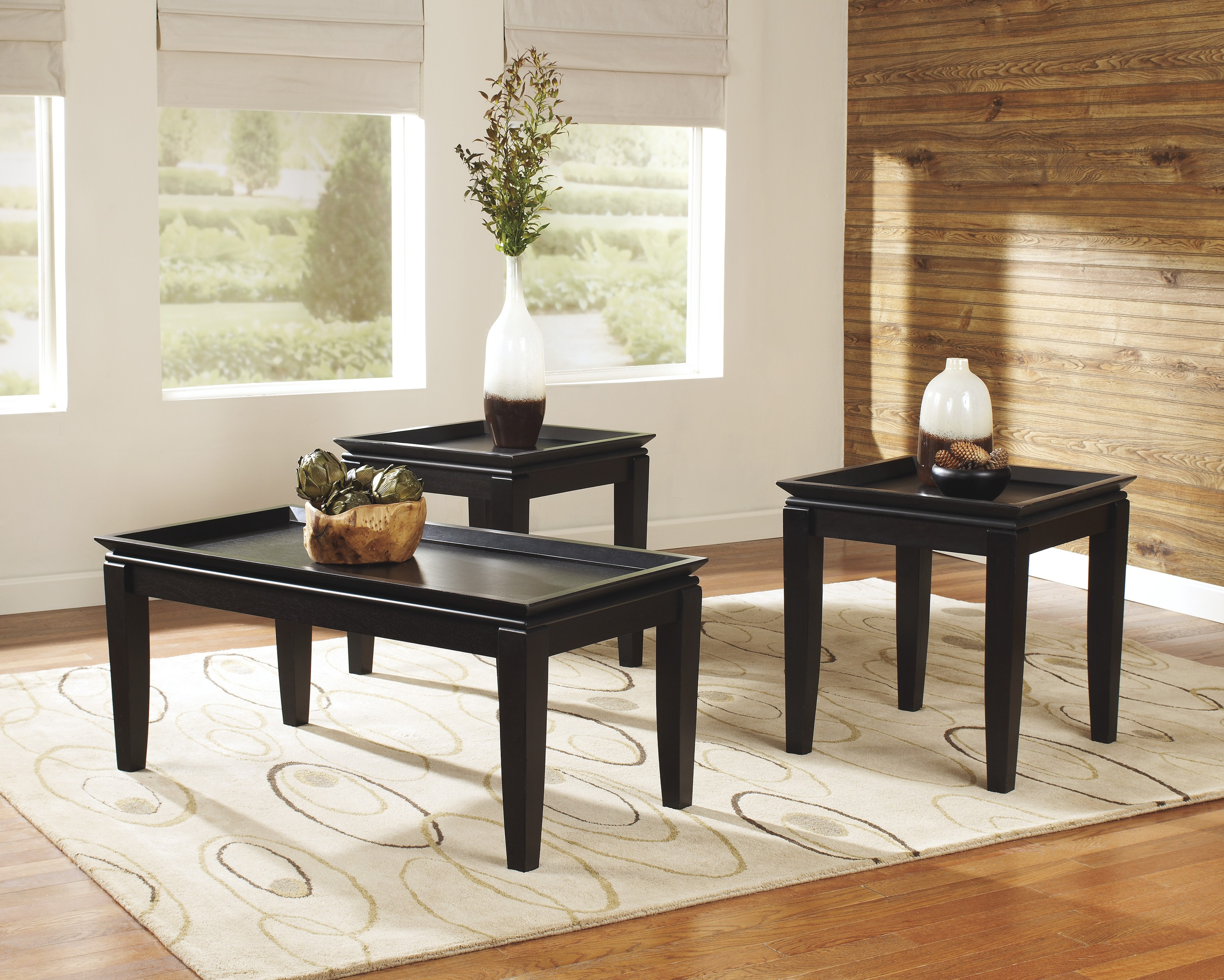 livingroom table sets cocktail table sets design homesfeed 9128