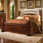 Classic Style Of Cal King Headboard With Decorative Bed And Stylish Rug