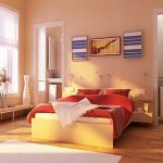 Cool Bedroom With Best Color Wall Paint And Colorful Bedding