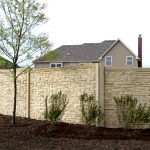 Cool Stone Design Of Wall Fence Panels