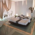 Cool safari decor idea for modern minimalist bedroom