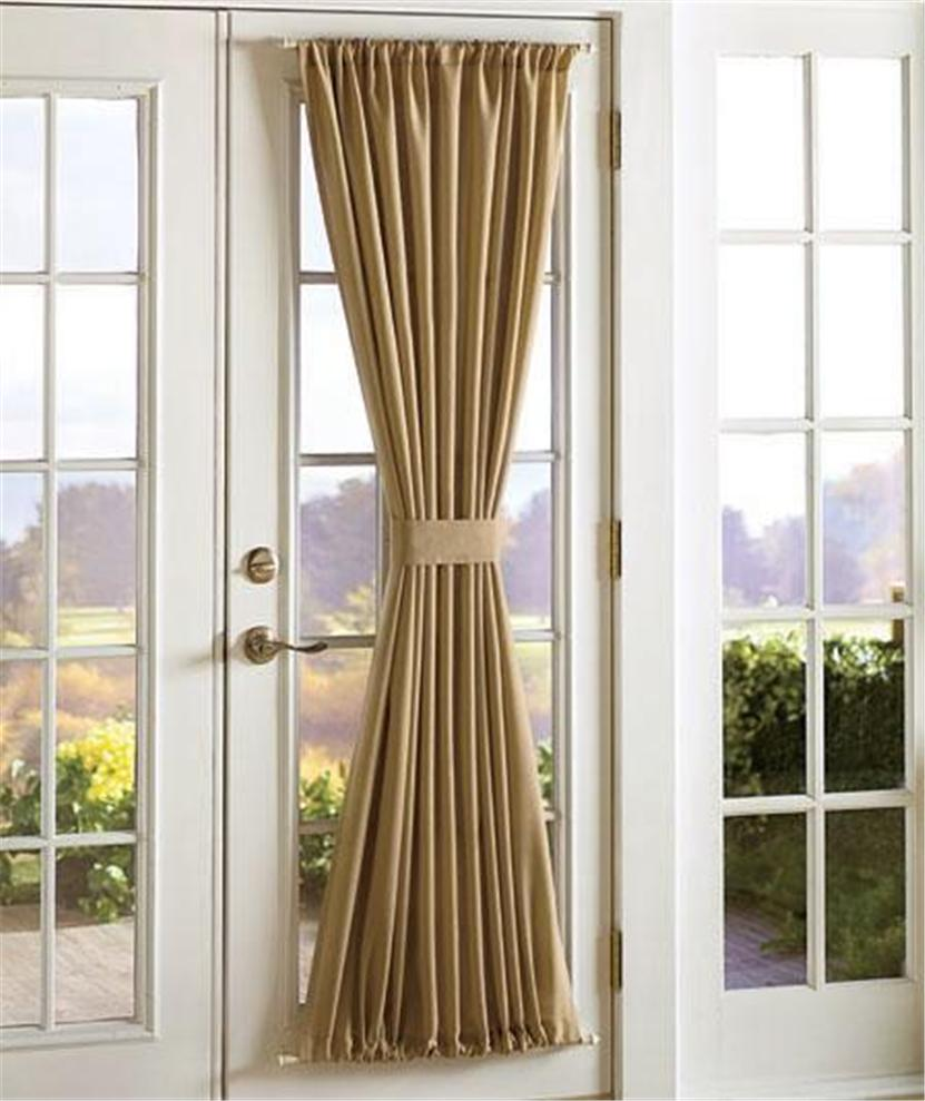 Sidelight window curtain panel curtain menzilperde net for Front door window curtains
