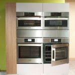 Custom Side By Side Ovens Metal Grey