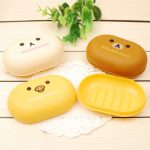 Cute Animal Character Of Draining Soap Dish For Kids