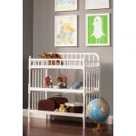 DaVinci-Jenny-Lind-Changing-Table-with-stained-finishing-and-metal-hardware-material-also-water-resistant-and-features-2-shelves-and-changing-pad