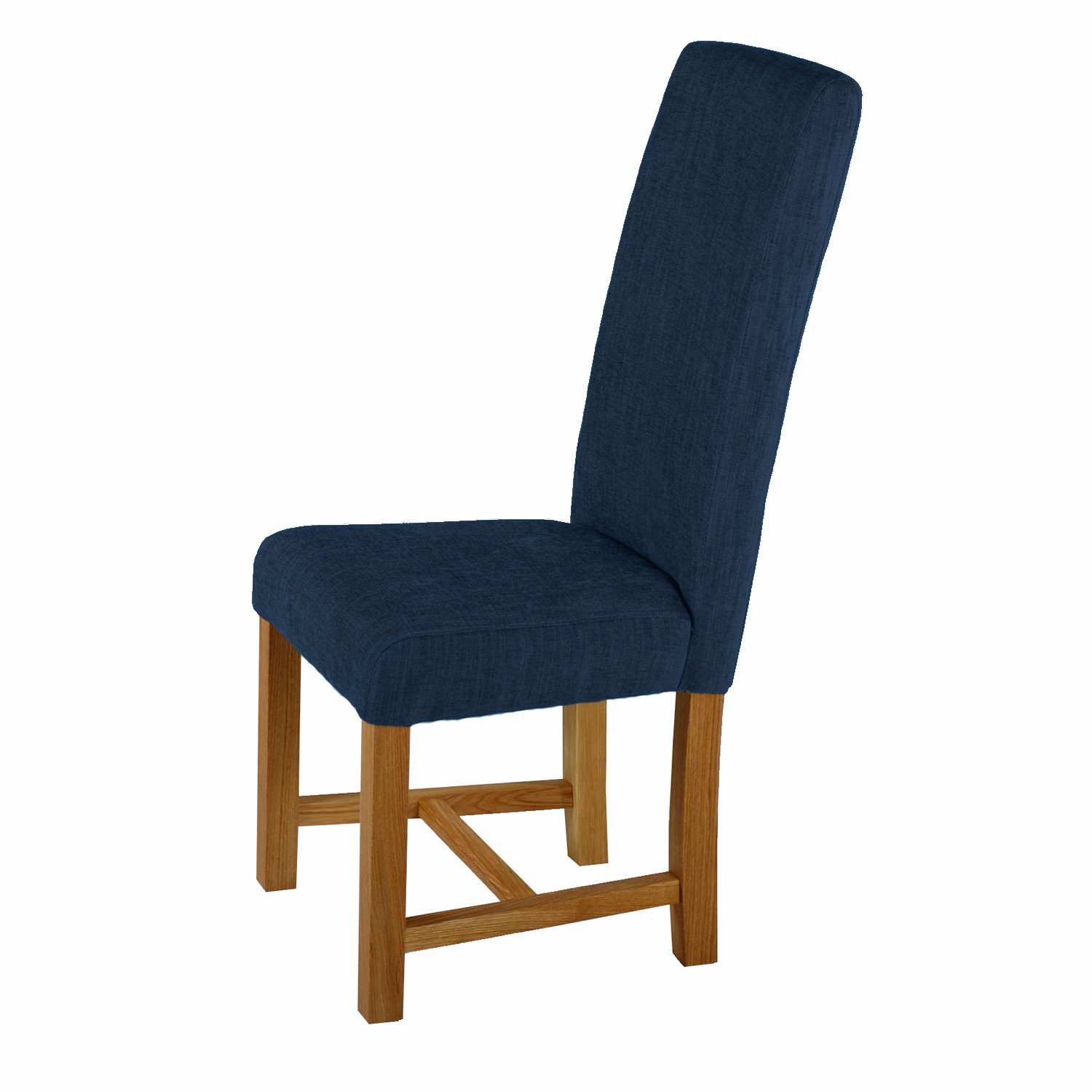 Blue Upholstered Dining Chairs - HomesFeed