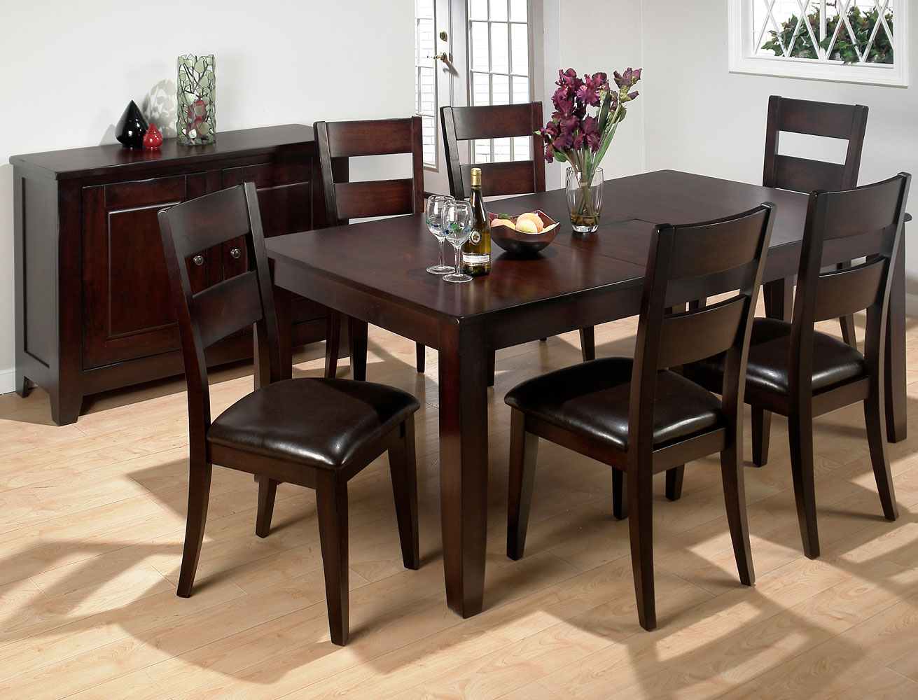 Wooden dining room sets