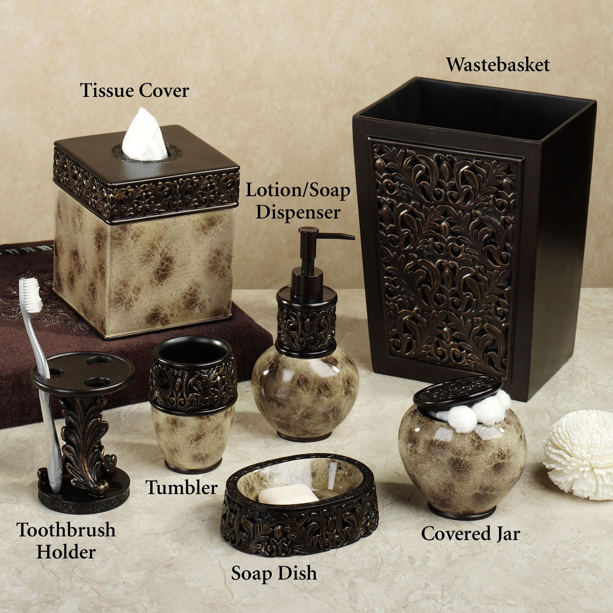 Brilliant Bath Accessories Sets Ideas Homesfeed Beutiful Home Inspiration Ommitmahrainfo