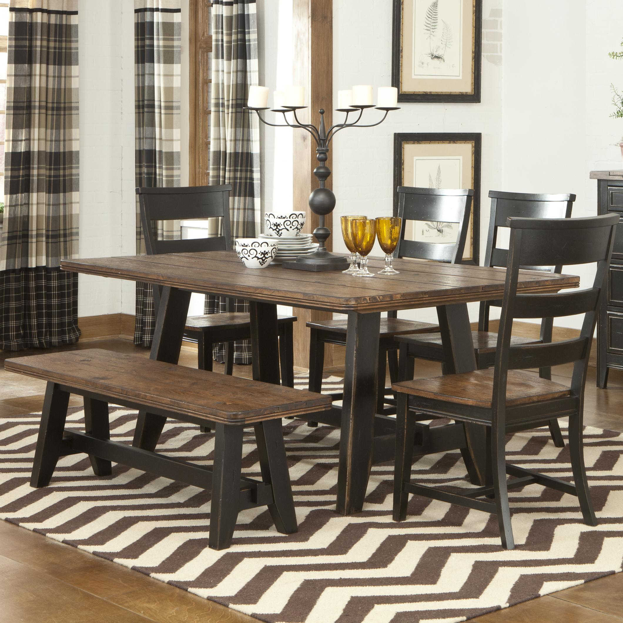 dining room sets with bench dining room sets target homesfeed 7405