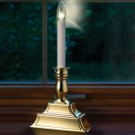 Electric Candle Lights For Windows With Luxury Style