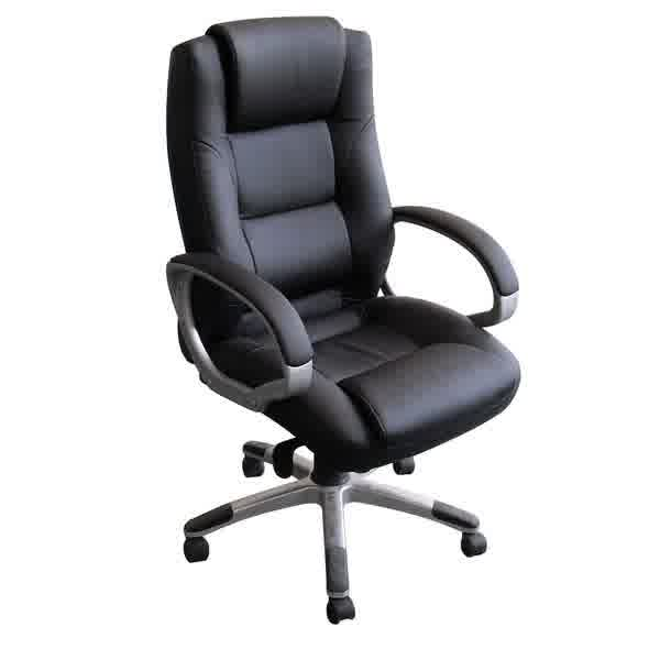 Elegant And Comfy Desk Chair With Wheels Armrests
