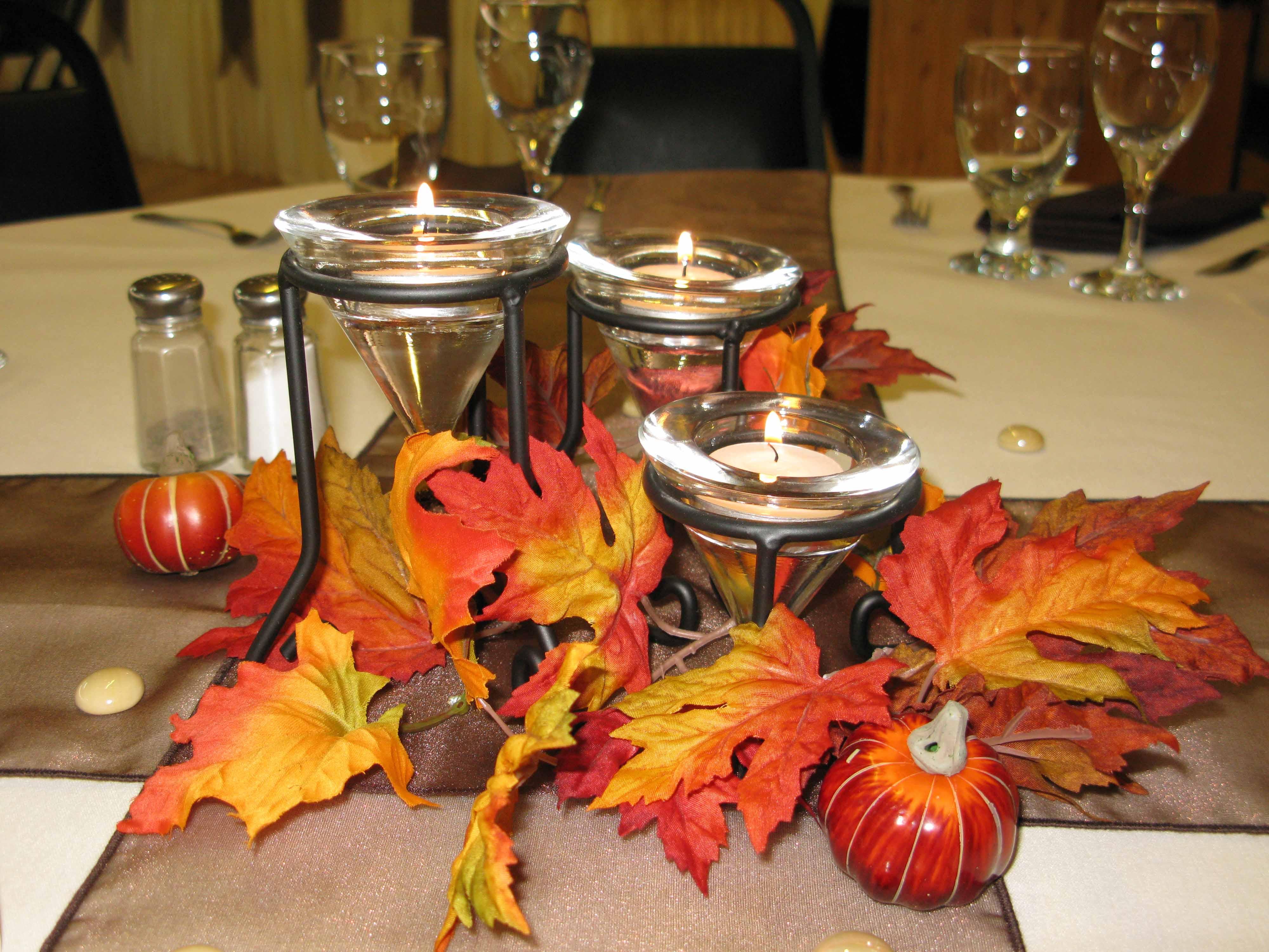 Fall Center Pieces Ideas - HomesFeed
