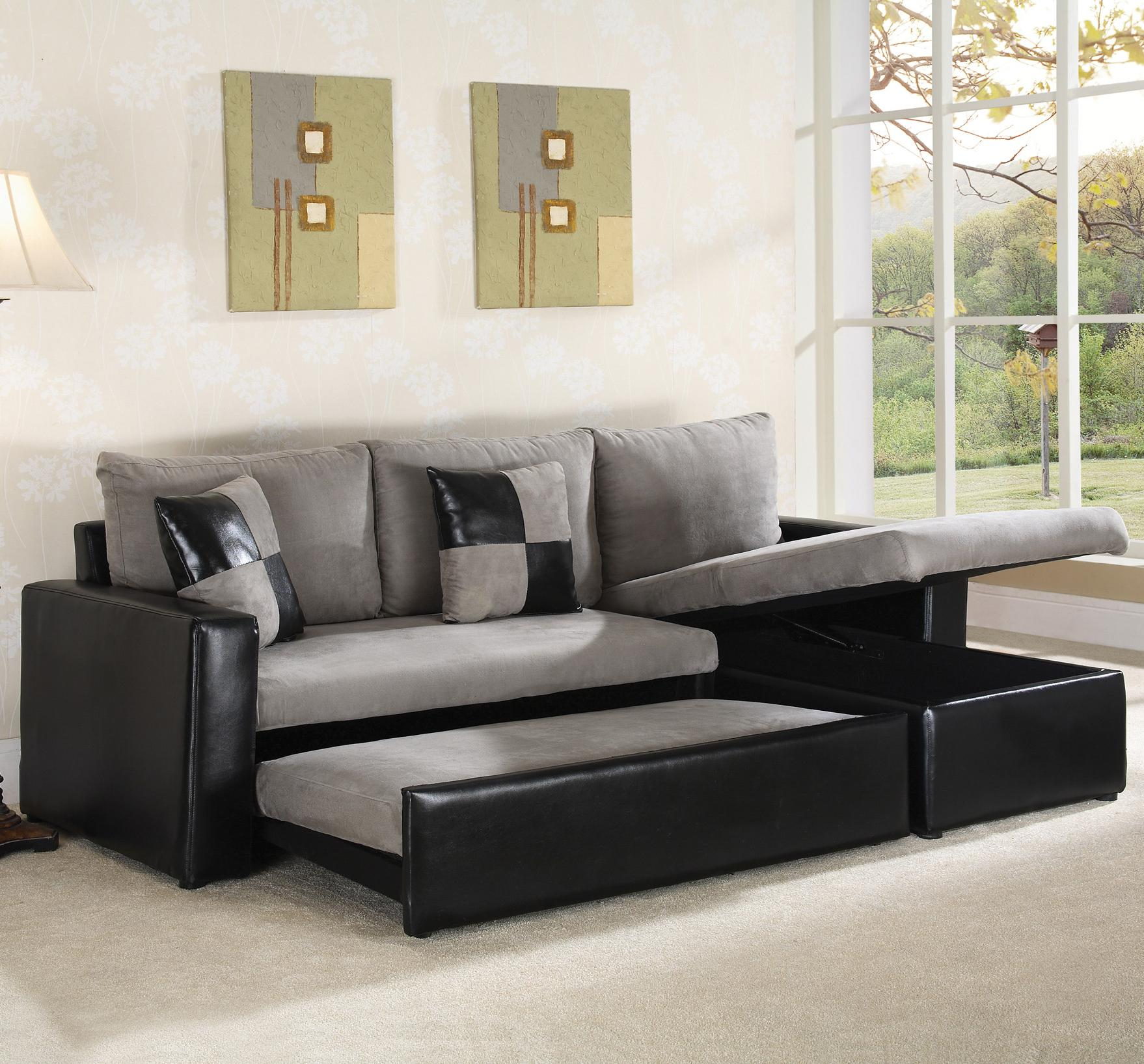living room with leather sectional most comfortable sleeper sofa homesfeed 22354