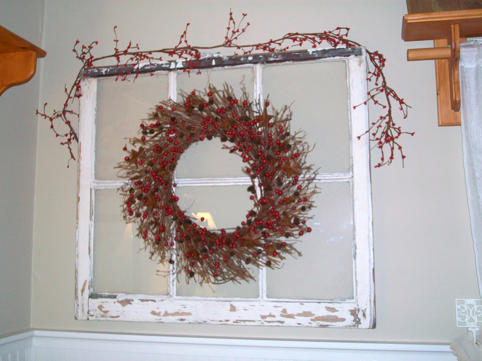 Church Window Sill Decorations