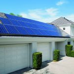 Home With Solar Panels For Home Roof